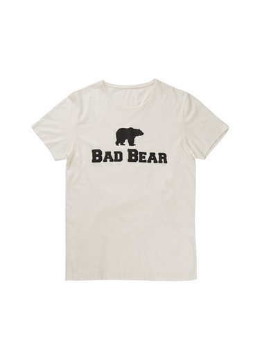 Bad Bear Tişört Ekru